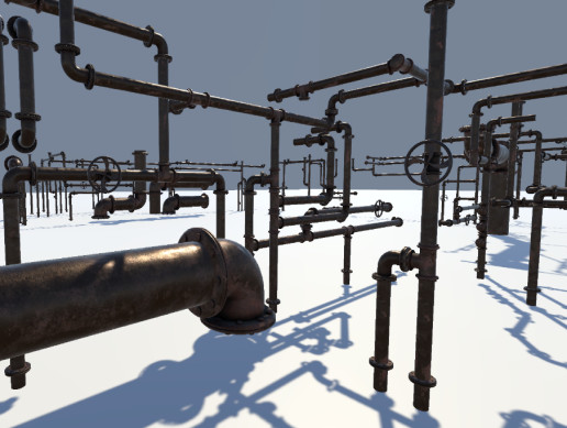 Pipes: Rusted and Modular