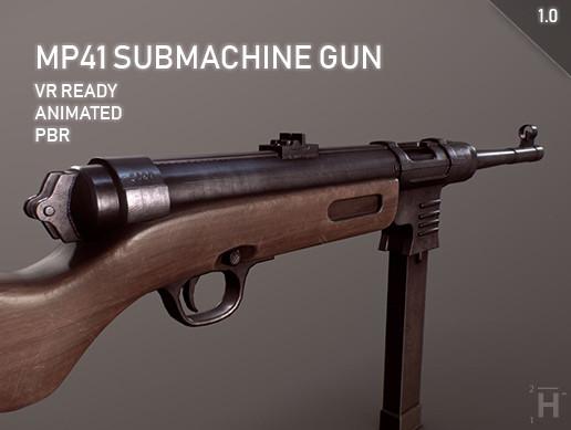 MP41 Submachine Gun