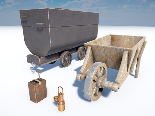 Mine Props Pack