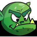 Orc Warrior Cartoon Character