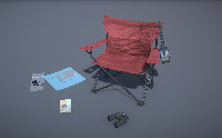 Camping Chair and Accessories