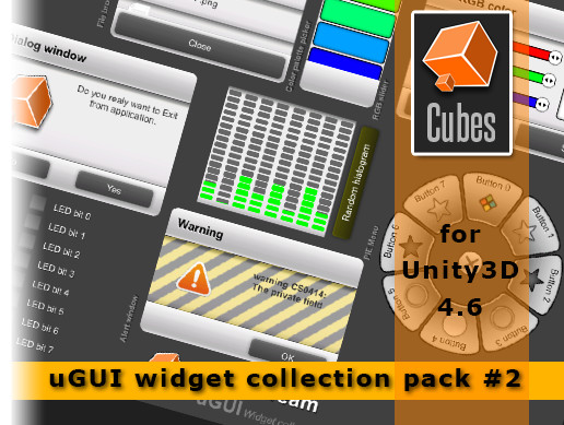 uGUI WIdgets Collections vol. 2