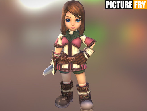 SD Novice Female Character