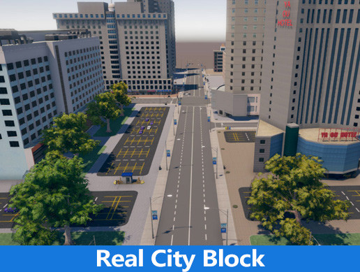 Real City Block