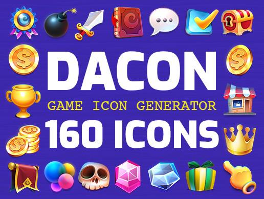 DACON: Game Icons Generator