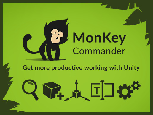MonKey - Editor Commands & Productivity Booster