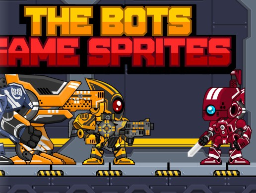 The Bots - Game Sprites