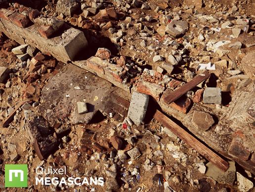 Megascans Urban Destruction Collection - Asset Store