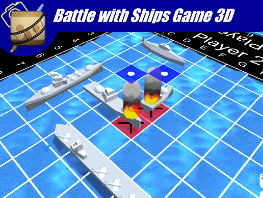 Battle with ships Game 3D