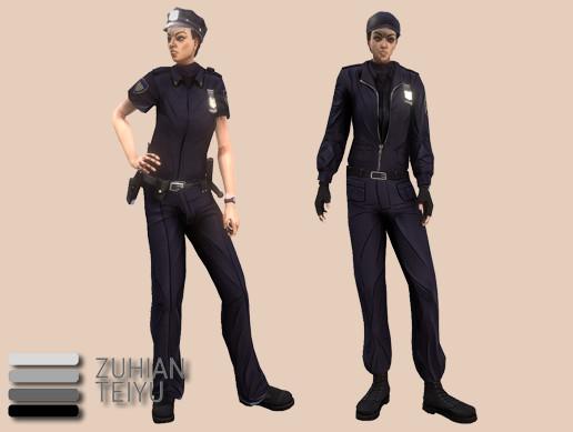 Urban: Female Cops