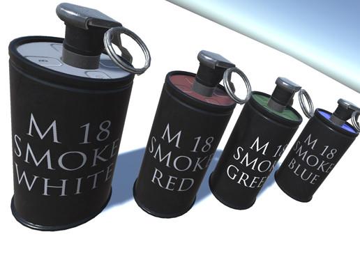M18 Smoke Grenade - Asset Store