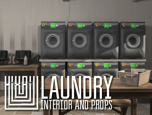 Laundry - interior and props