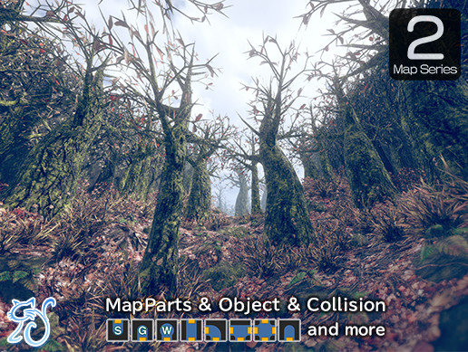 Sad Forest - Map Series 2 -