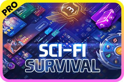 GUI PRO Kit - Sci-Fi Survival