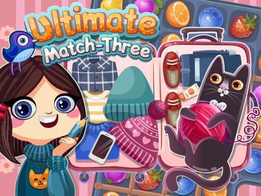 پروژه کامل یونیتی Ultimate Match-Three