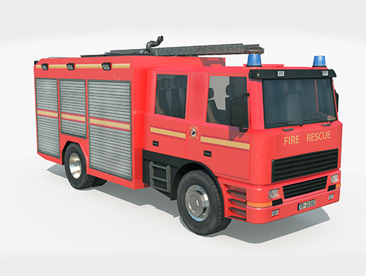 Fire Truck - Rescue Machine