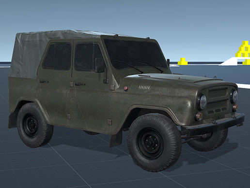 Off-Road Military Vehicle