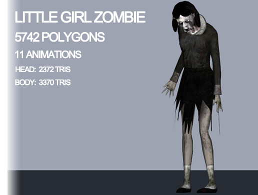 Little Girl Zombie