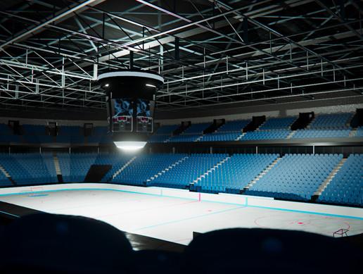 Indoor Ice Hockey Stadium