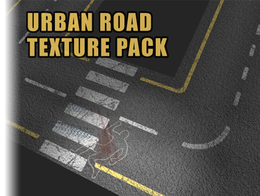 Urban Road Texture Pack