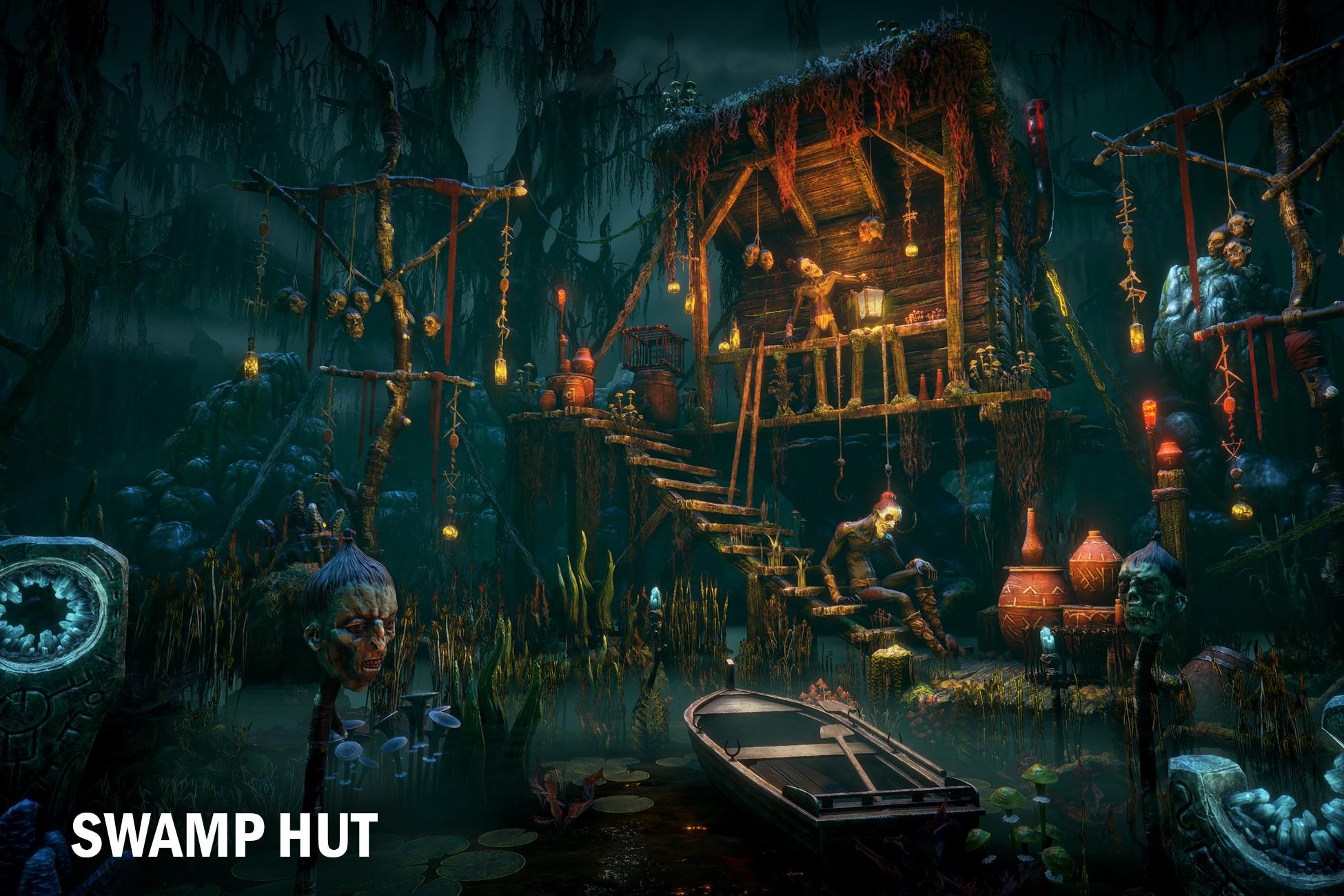 Swamp hut