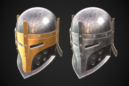 Knight Helmet 09