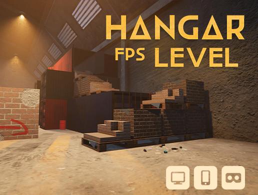 Hangar FPS level