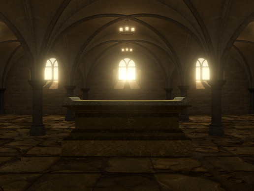 Crypt Dungeon Environment