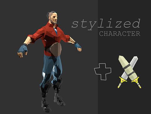 Davi | stylized character