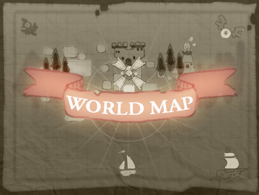 Tasty World Map