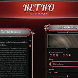 Retro Info Boxes