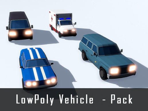 LowPoly - Vehicle Pack