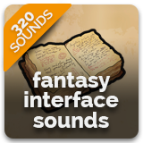Fantasy Interface Sounds