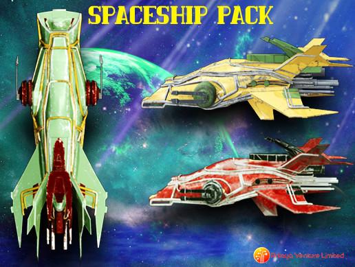 3D Spaceship Pack Vol 08