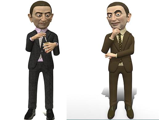 Regular stylized cartoon man 2
