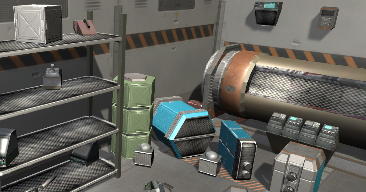 Sci-fi Objects Pack 1
