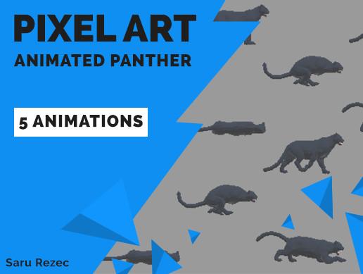 Pixel Art: Animated Panther