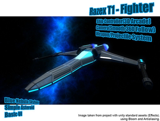 Razex T1 - Fighter - Ship Controller