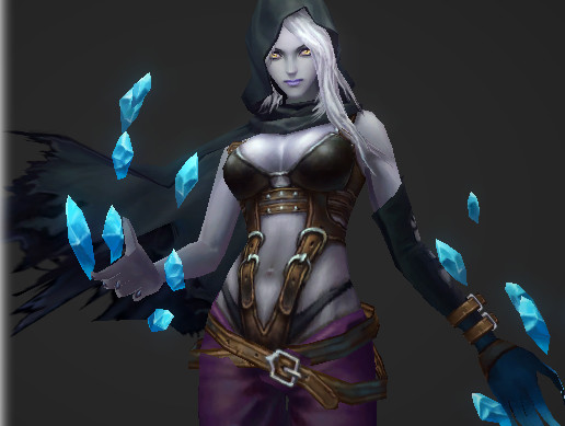 Dream World - Female Ice Magician
