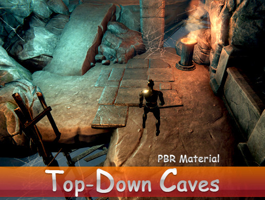 Top-Down Caves Environment