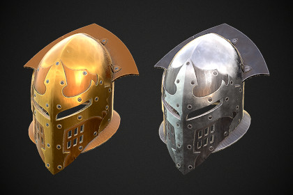 Knight Helmet 07