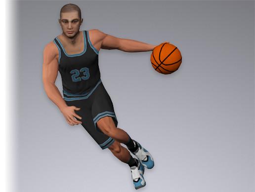 Basketball Player 7538 tris