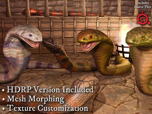 Cobra Snake Pack PBR