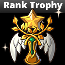 Rank Trophy Icon Set Pack
