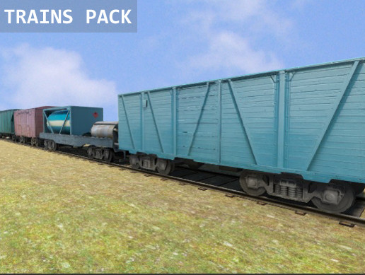 Trains Pack Vol.1