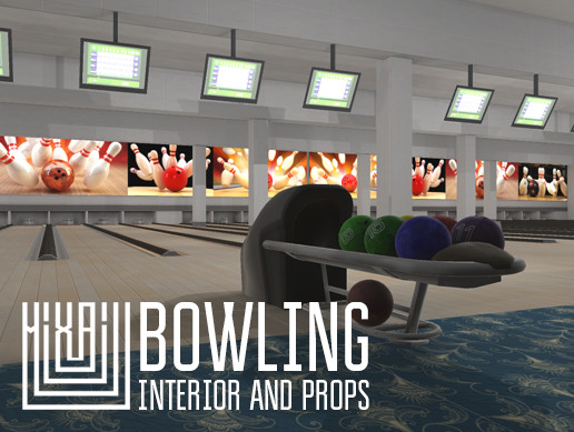 Bowling - interior and props