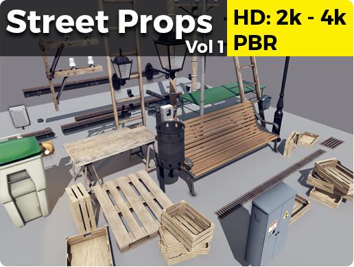 Street Props Vol 1