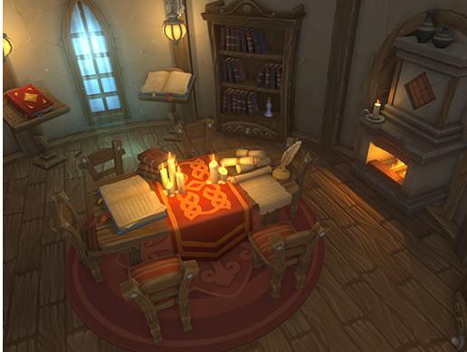 Alchemists House Interior Asset Store