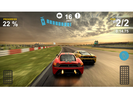 Racing Game UI Pack