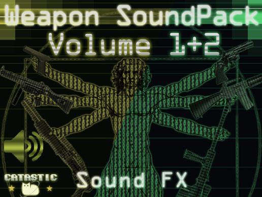 Weapon Sound Pack - Volume 1 + 2
